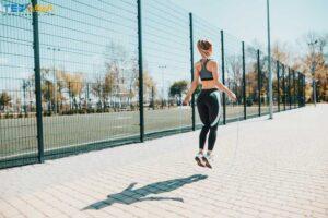 کاهش وزن-طناب زدن-طب اسیا
